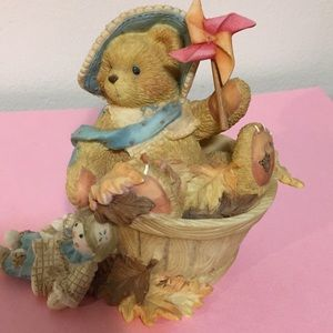 """Cherished Teddies collectible Pat """"Falling for You"""